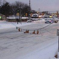 Traffic light down - Jan 8, 2015
