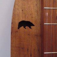 Bear sound holes - Clemmer Wormy Chestnut