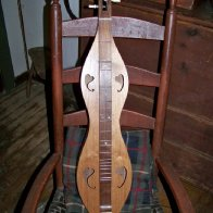 Dulcimer and chair