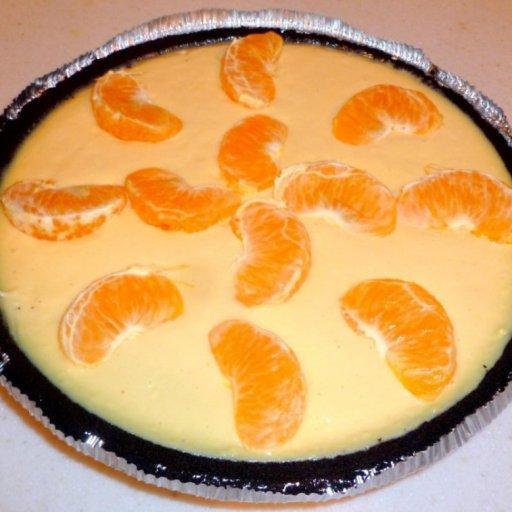 Orange Cream Pie
