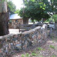 Wibbly-Wobbly Wall at Tasma House Music and Arts Retreat