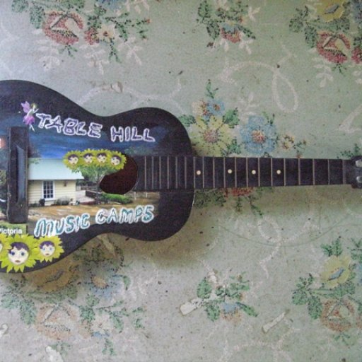 Table Hill Music Camp Guitar Sign
