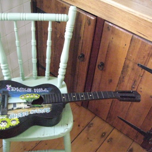 Table Hill Music Camp Guitar Sign #2
