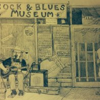 Adrian at the Rock & Blues Museum