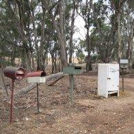 Mailboxes in Victoria, AU