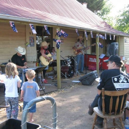 Music at the Old Glenlyon General Store