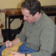 Signing the Wartz Dulcimer