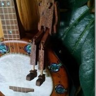 Willie on the banjo 3
