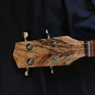 Spalted Maple peghead