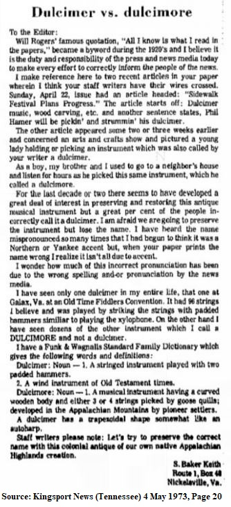 Dulcimer vs dulcimore 1973 article.jpg
