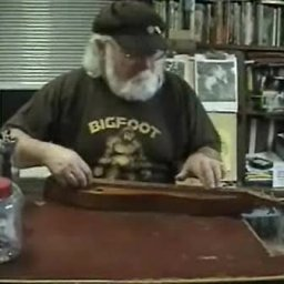 Michael Rugg and the redwood dulcimer
