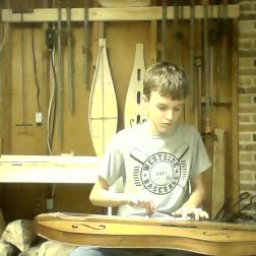 Playing in the workshop